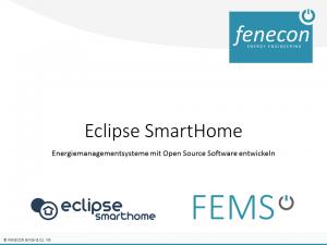 FENECON - Stefan Feilmeier - Eclipse SmartHome